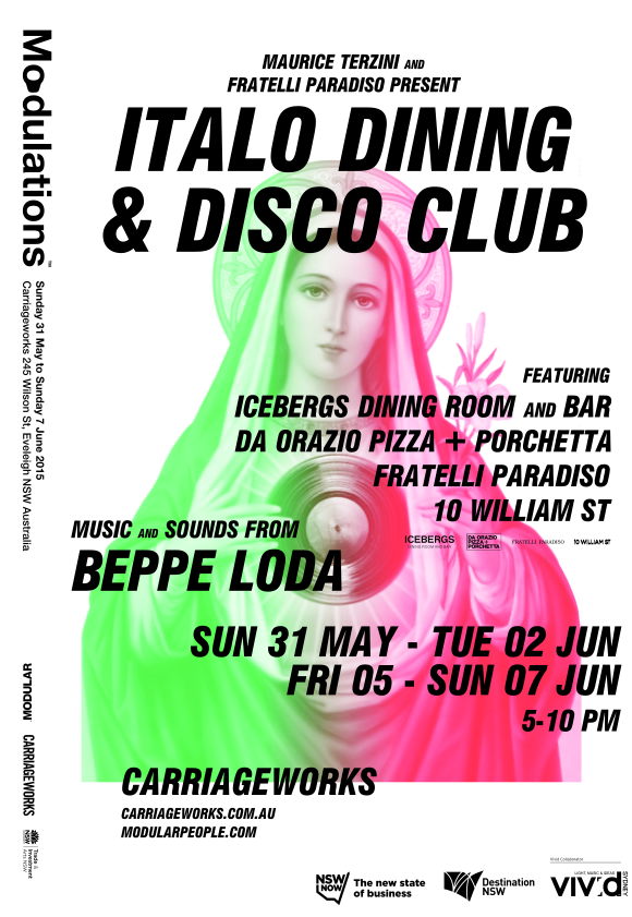 Italo Disco and Dining Club