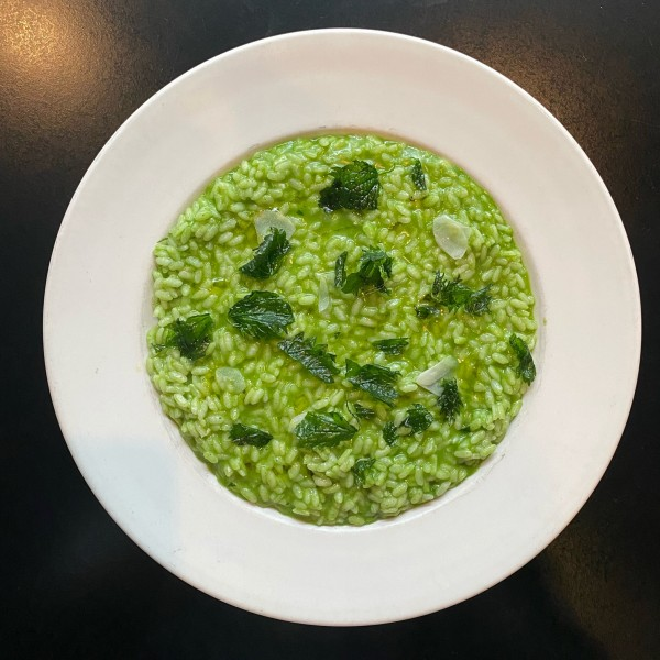 nettle risotto FP